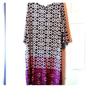 Charter club ombre shift dress